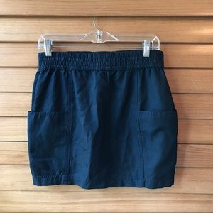 MARC JACOBS Blue Mini Skirt with Pockets